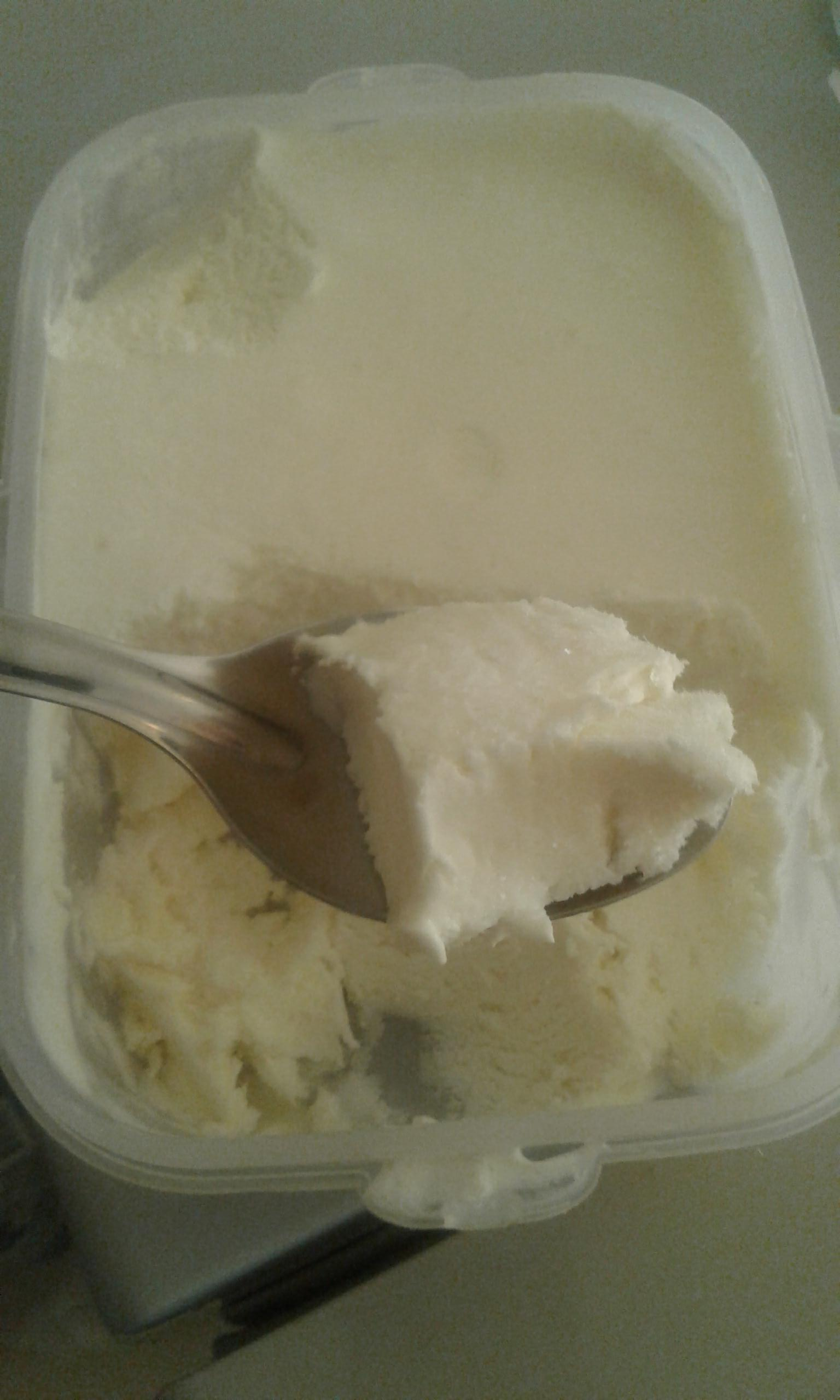 No Churn Lemongrass Ice Cream