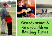 Grandparent-child bonding idea